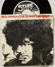 EP  MICK FARREN & THE DEVIANTS - Screwed Up  4 Tracks  Single