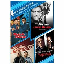 Buddies & Badges Collection: 4 Film Favorites (DVD, 2013, 4-Disc Set)