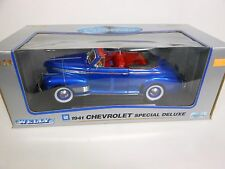 Welly 1941 Chevrolet Special Deluxe Blue (Die-cast 1:18 Scale)
