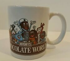 Hershey Chocolate World Ceramic Coffee Mug Cup Great Gift for Candy Lovers EUC
