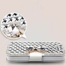Crystal Luxury Bling Rhinestone Diamond Wallet Flip Leather Case iPhone 7 Plus
