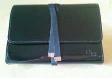 Dior Black Cosmetic Bag Patent Leather - New In Box