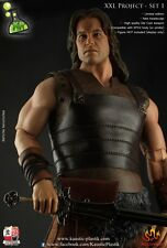 1/6 Scale KAUSTIC PLASTIK CONAN custom figure outfit + HEAD SCULPT no hot toys