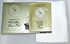"Town Talk PEARL Jewellery Care Kit Cloth and Cleaner Sachets; 5""X7"" cloth + 2 Sc"
