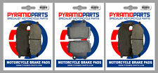 Yamaha XJ600 N 98-03 Full Set Front & Rear Brake Pads (3 Pairs)