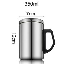 Thermal Travel Mug Stainless Steel Insulated Coffee Water Tea Cup 350ml 500ml