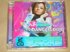 BOITIER 2 CD / FUN RADIO / LE SON DANCEFLOOR 2008 VOL 2 / NEUF SOUS CELLO
