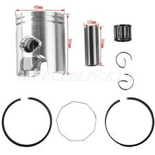 40mm Piston Ring Set Kit for 2 Stroke 49cc 50cc Scooter Moped Chinese Parts