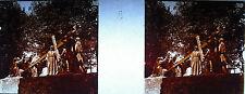 Photographie c1920 Chemin de croix des Espélugues Jésus & les filles Jérusalem