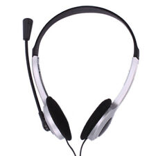 New PC Latop Computer Headphone Headset with Microphone For Skype MSN Game Music