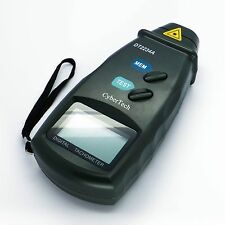 Digital Photo Laser Tachometer Non Contact Tach RPM Tester