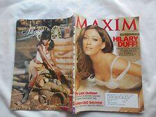 MAXIM--AUGUST,2007-HILLARY DUFF