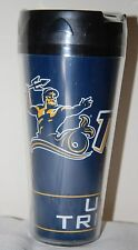 UNIVERSITY of CALIFORNIA SAN DIEGO TRITONS TRAVEL MUG ACRYLIC TUMBLER NEW