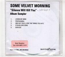 (GT467) Some Velvet Morning, Silence Will Kill You Album Sampler - DJ CD