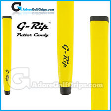 Feeltec G-Rip Fat Wave Jumbo Lightweight Pistol Putter Grip - Yellow + Tape