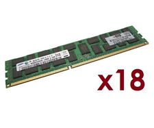 72GB 18x HP 4GB 500203-071 ProLiant ML350 DL380 G6 G7 ECC RAM REG 1333 Mhz RDIMM