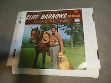 Along The Trail by Cliff Barrows And The Gang LP SEALED! cowboy southern gospel