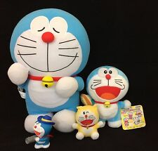 Job lot of Japanese licensed Doraemon soft toys and figure, Japan import (O924)