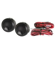 "JBL GTO19T +2YR WARANTY CAR AUDIO 3/4"" 0.75"" DOME TWEETERS PAIR SET W/CROSSOVER"