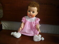 "18"" TINY TEARS BETSY WETSY EFFANBEE BEAUTIFULLY  MADE DOLL CLOTHES NO DOLL"