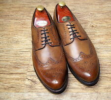 Brand New & Rare Gordon & Bros Tan brogue Shoes UK 11 EU 45 RRP £150