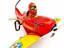 Marx 1950's Rollover Tank Fighter Plane, Wind Up, Beautiful, Works!!!