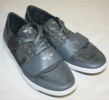 Mens Creative Recreation Gray Laces Velcro Strap Fashion Sneakers Size 10M