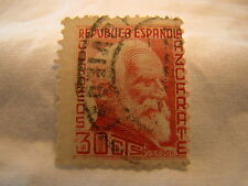 Spain Stamp 1935 Scott 548 A112  Red 30 Cts