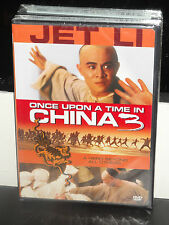 Once Upon a Time in China 3 (DVD) Jet Li, Max Mok, Rosamund Kwan, Hark Tsui, NEW
