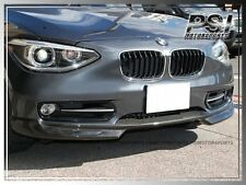 BMW 12-14 F20 1-SERIES 116i 118i 125i CARBON FIBER FRONT LIP FOR OEM BUMPER