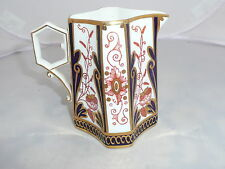 WILEMAN MILK JUG  PRE SHELLEY / FOLEY 3476 IMARI JAPAN SQUARE QUEEN ANNE 1884