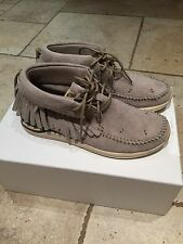 MENS VISVIM SHAMAN FBT Folk - Sand - UK8 US9 Shoes Trainers