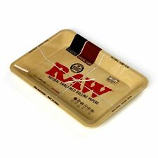 RAW Classic Small Metal Rolling Tray 11in x 7in for Rolling Machine -RYO Tobacco