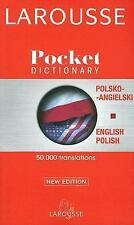 Larousse Pocket Polish-English/English-Polish Dictionary, , Good Book