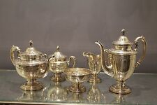 Towle Loui xiv 5 Pce Sterling Silver Tea Set.Very Heavy. The Perfect Gift.