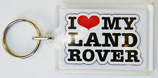 LAND ROVER I LOVE MY LAND ROVER KEY RING C1