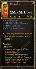 Diablo 3 Mods PS4 Xbox One 2.4.3 393k The Barber Witch Doctor Blade