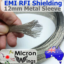 12mm EMI RFI Shielding Expandable Metal Braided Tinned Copper Cable Sleeving