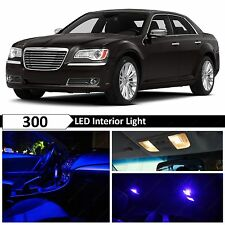15x Blue Interior LED Lights Interior Package Kit for 2011-2014 Chrysler 300