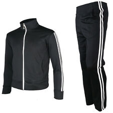 Mens Womens Jogging Running Track Suit Warm Up Jackets Pants Gym Training Wear