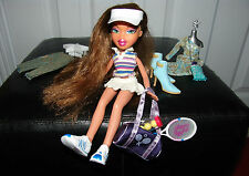 Bratz Fianna Doll Tennis, Play Sportz, 2001, Accessories, Shoes, Racket, Hat