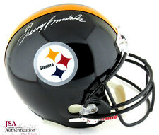 Terry Bradshaw Autographed/Signed Pittsburgh Steelers Full Size NFL Helmet - JSA