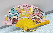 Sanrio Little Twin Stars Mini Hand Held Fan Keychain,1pc #2 -Takara Tomy ARTS