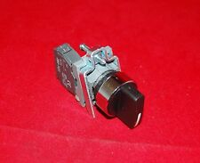 22mm Metal Maintain Selector switch 2 Position Fits XB4BD21 Select Switch 1NO