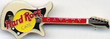 Hard Rock Cafe CANCUN 1990s Cream Eko 700 4V GUITAR PIN - HRC Catalog #1560