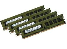 4x 4GB 16GB DDR3 1333Mhz ECC für Dell PowerEdge T110 + T110 II PC3-10600E Ram