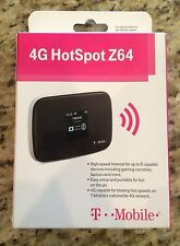 T- Mobile 4G HotSpot Z64 Mobile Wireless High Speed Internet ZTE MF64, New in FC