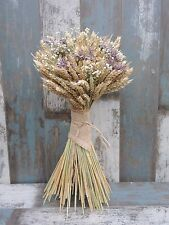 Dried Flowers Freestanding Large Bouquet Natural Country Rustic Fireplace Pub19""