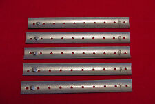 GERMAN WWI & WWII RIBBON BAR BLANKS FOR 15MM RIBBONS - STEEL - W/O PINS - FIVE