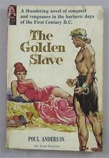 THE GOLDEN SLAVE POUL ANDERSON 1960 AVON #T-388 1ST ED PAPERBACK PBO SIGNED